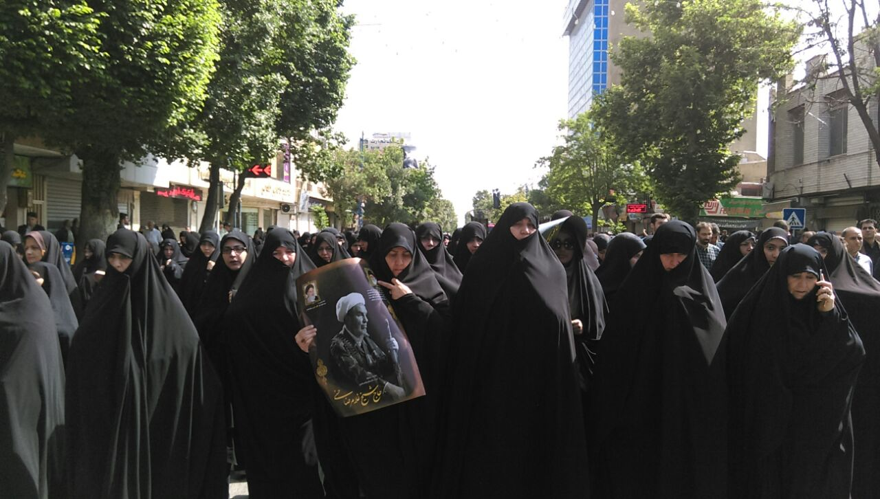 تشییع غلامرضا حسنی