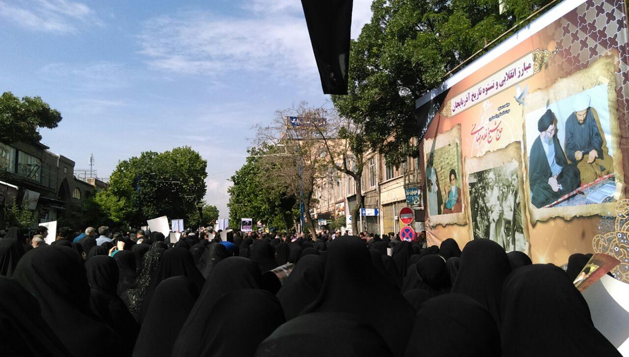 تشییع حجت الاسلام حسنی