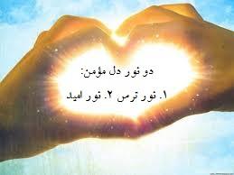 دو نور دل مؤمن