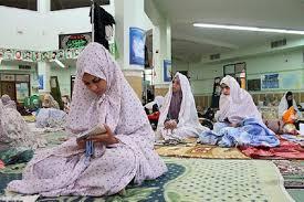 مسجدی که دختر را از اعتکاف فراری داد