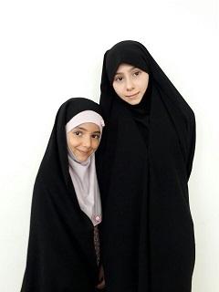 زهر،زینب،دخترای،باحجاب،نوه های گلم