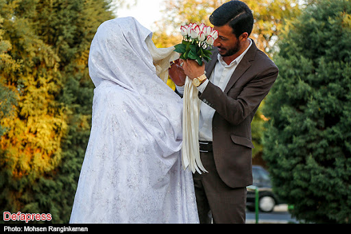 تن پوش عروسی حضرت زهرا