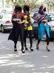 دختران بد حجاب