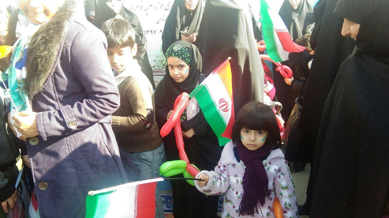 دهه نودی ها در راهپیمایی 22 بهمن