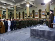 دیدار فرماندهان و کارکنان ارتش با رهبر انقلاب
