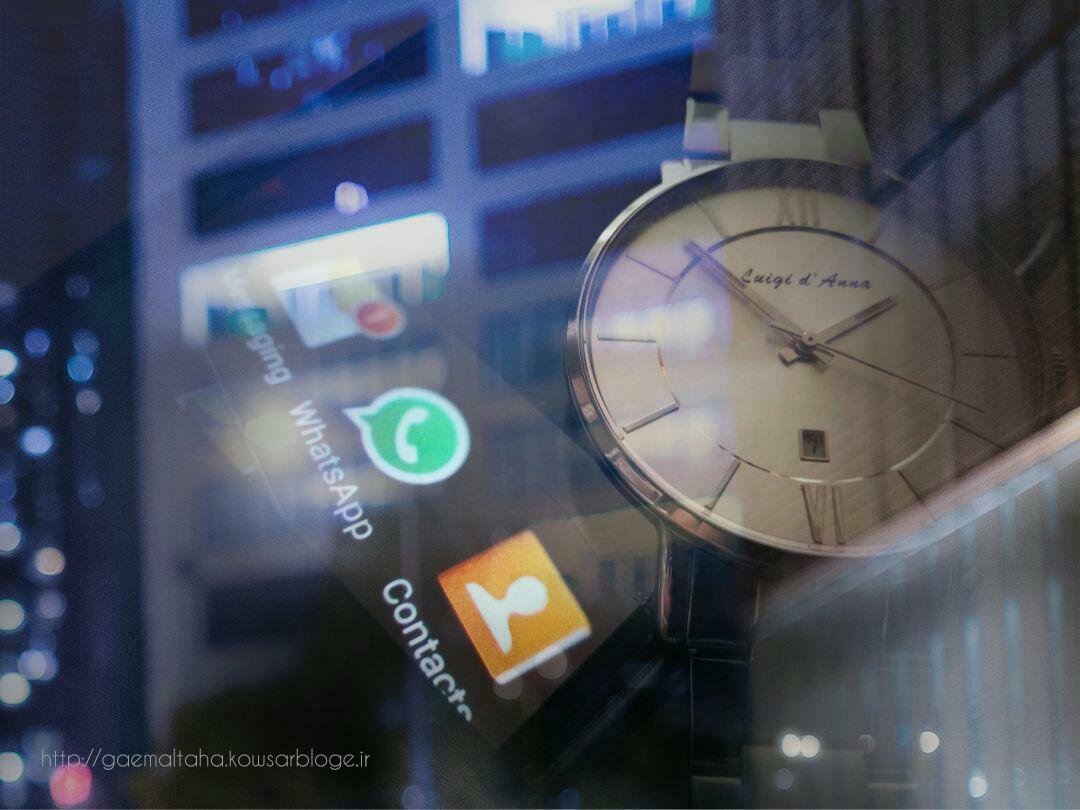 زمان و دنیای مجازی