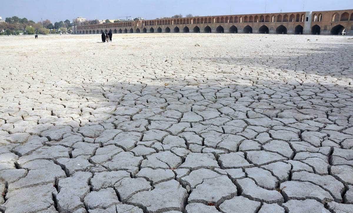 زاینده رود خشک