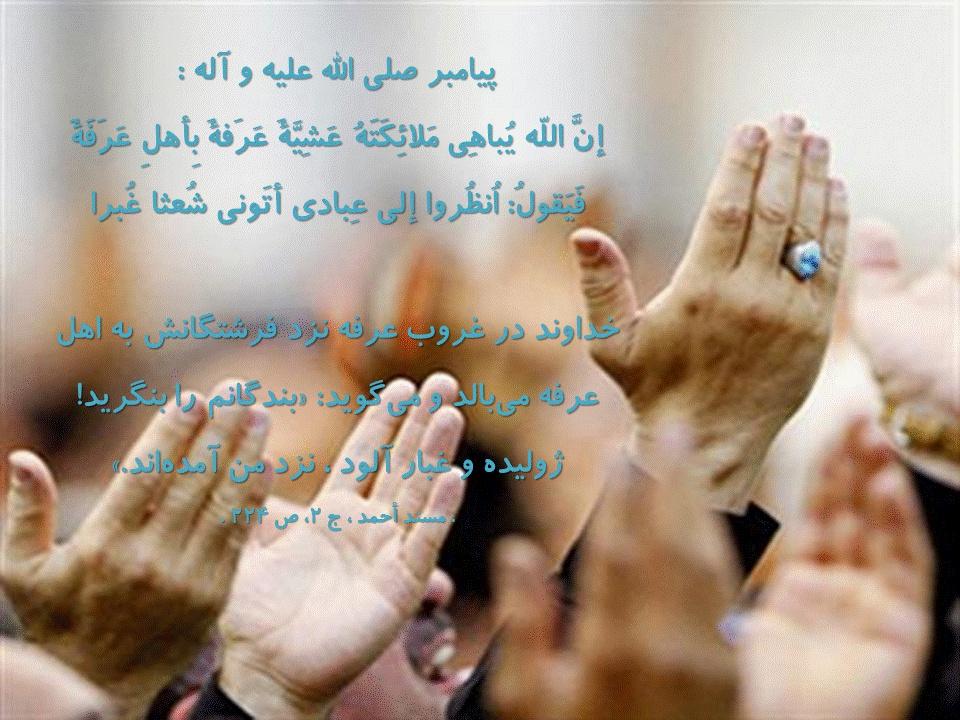 روز عرفه، روز دعا
