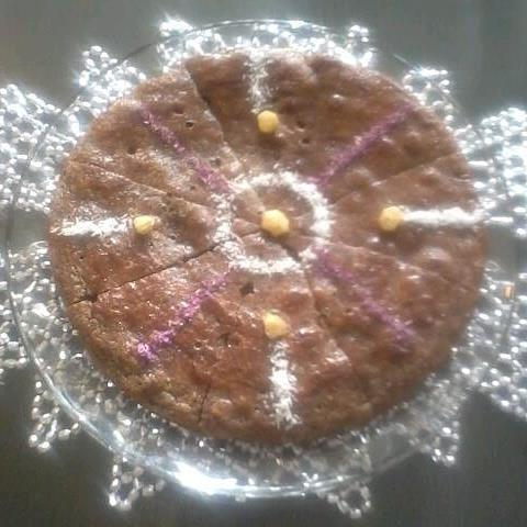 قزل گل قیقاناخ (خاگینه گل محمدی)