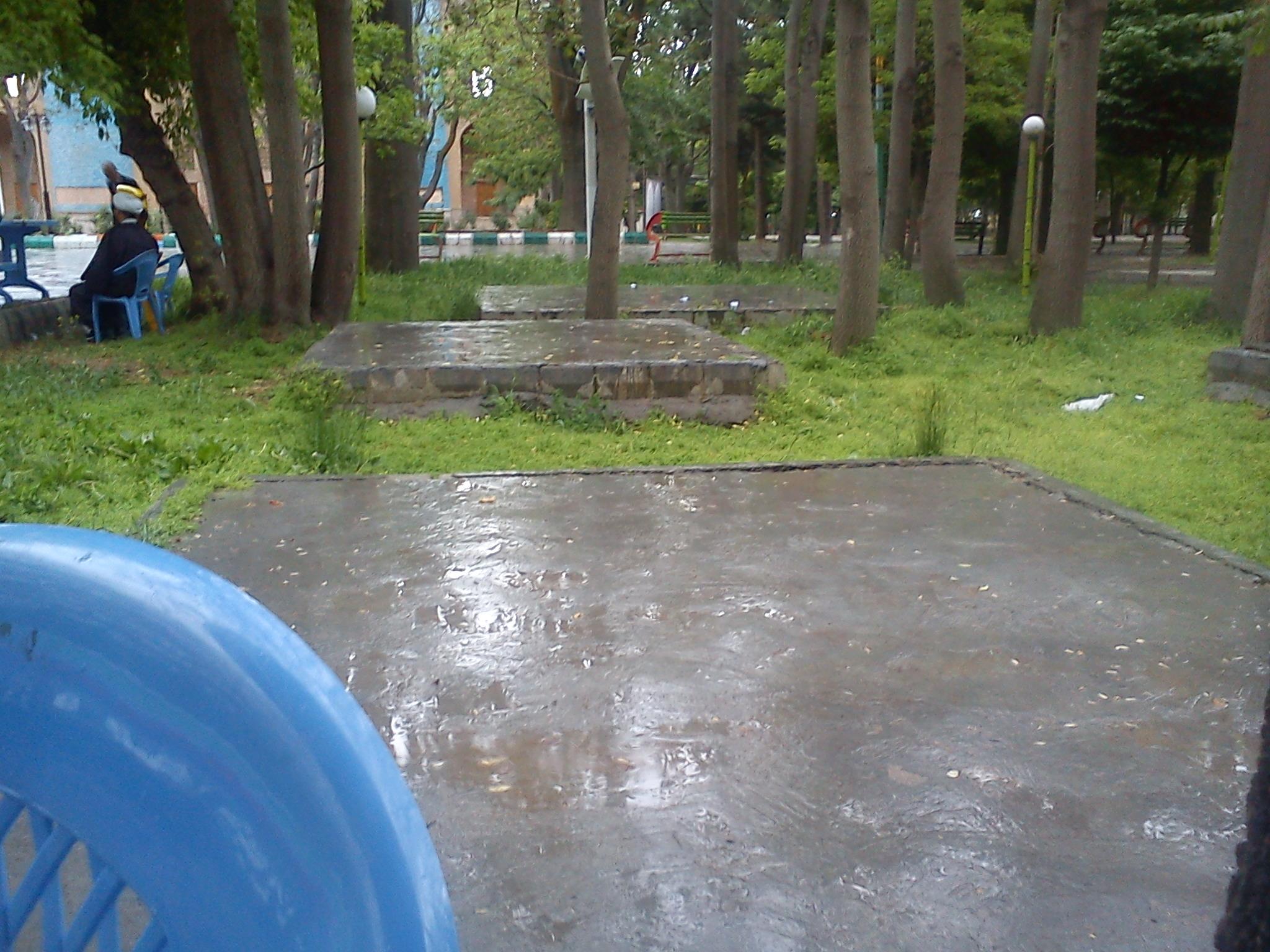 باران پارک شیخ شهاب الدین اهری رمضان 97