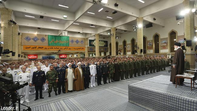 بیانات رهبری در روز ارتش