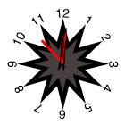 کدساعت فلش