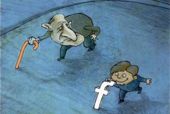 شبکه ی اجتماعی فیس بوک