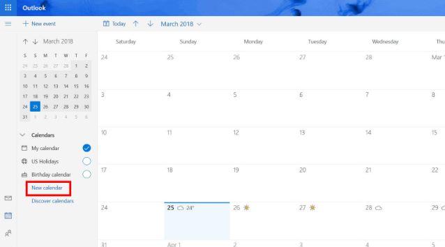 اضافه کردن مناسبت ها و تعطیلات به تقویم دسکتاپ