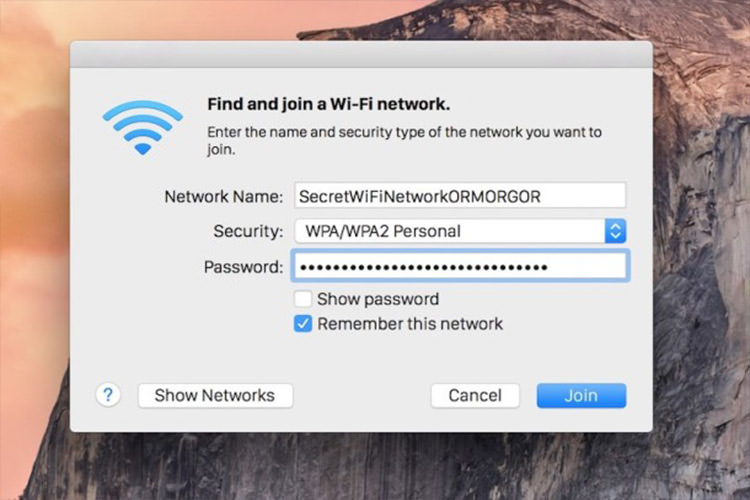 connect to hiden ssid