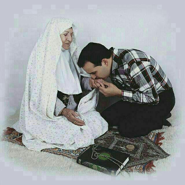 والدین،احترام،مادر