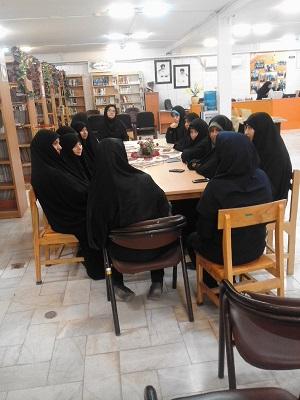 بازدید از کتابخانه مسجد جامع