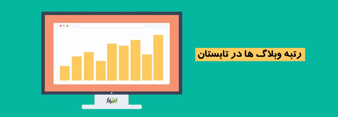 رتبه وبلاگ ها در تابستان